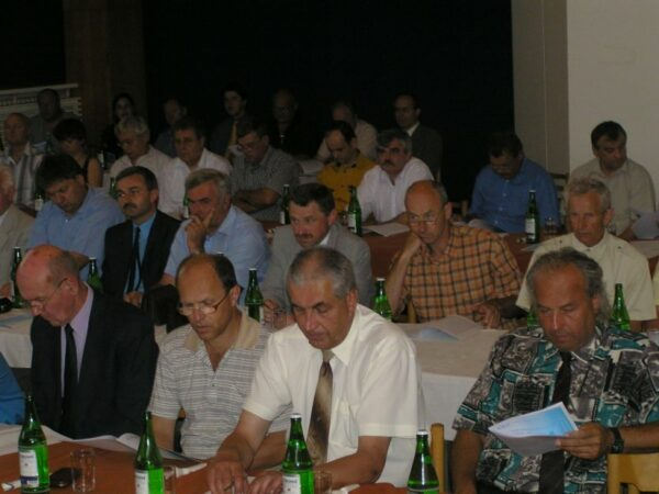 Mandatory meeting of the society in 2005
